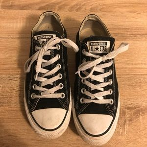 Black Converse All Star Shoes